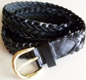 Leather Belt-Black