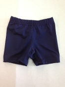 Girl's Bike Shorts - Navy