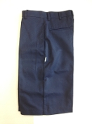 Clearance Boys Uniform Shorts - Navy-No Returns or Exchanges