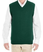 Youth Pullover Cardigan Sweater Vest - Forest
